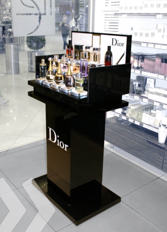 dior 02 display display hersteller point of sale