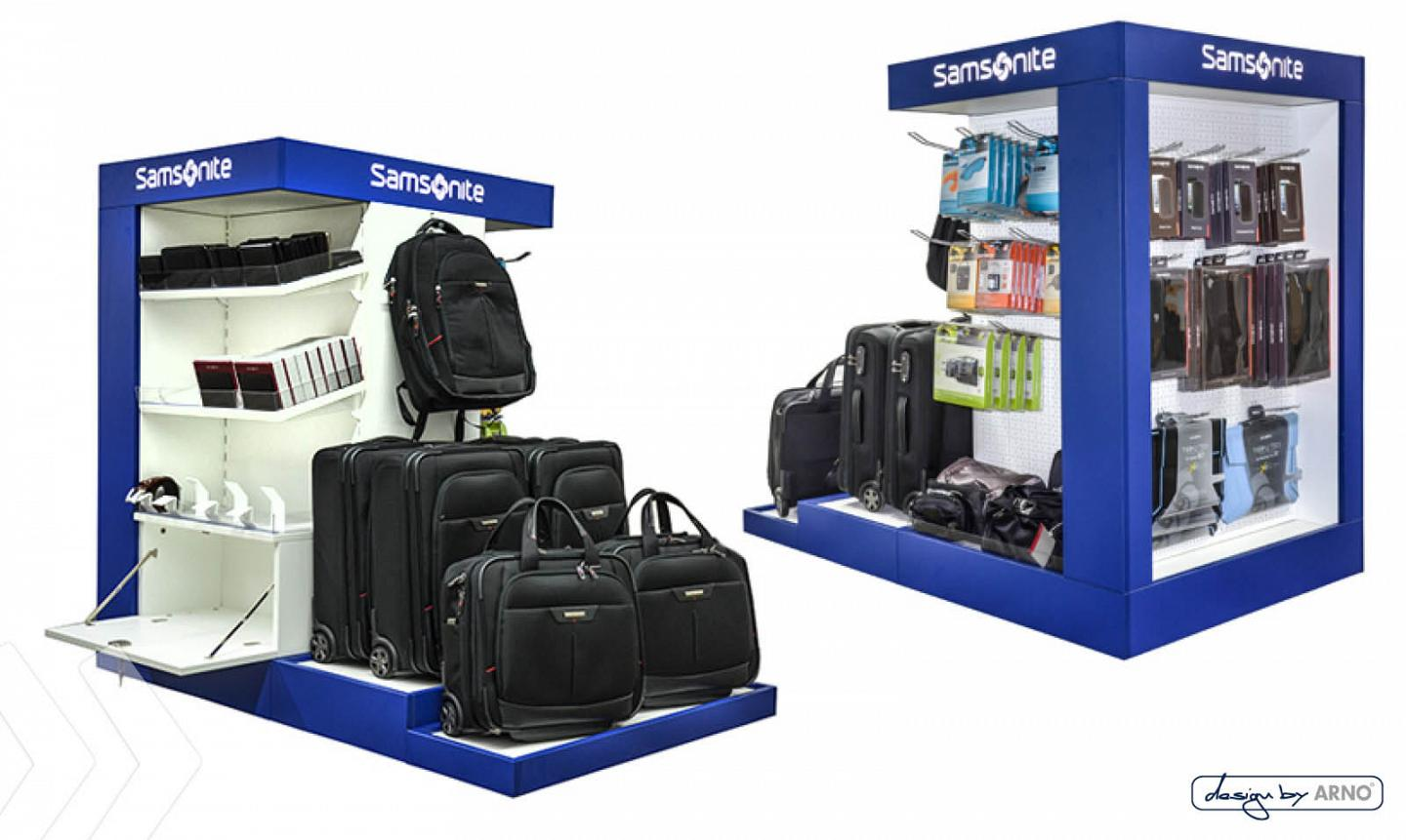 Samsonite Bodendisplay by ARNO Group 01