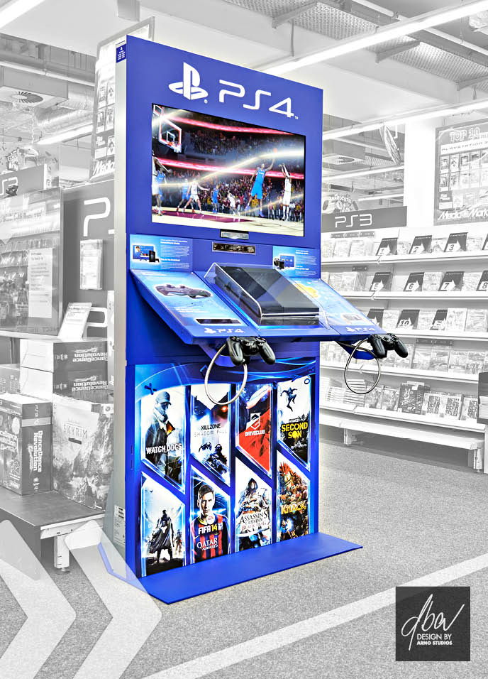 Sony Playstation 4 Display - Bild 01