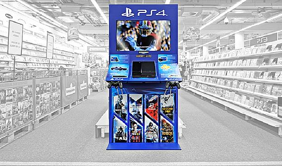 Sony Playstation 4 дисплеи