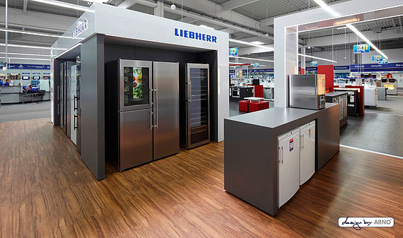 Liebherr Shop in Shop