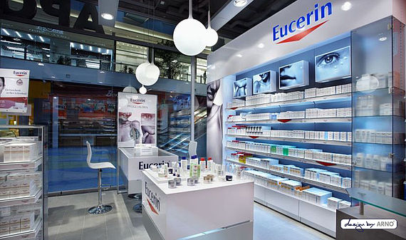 Eucerin Shop in Shop
