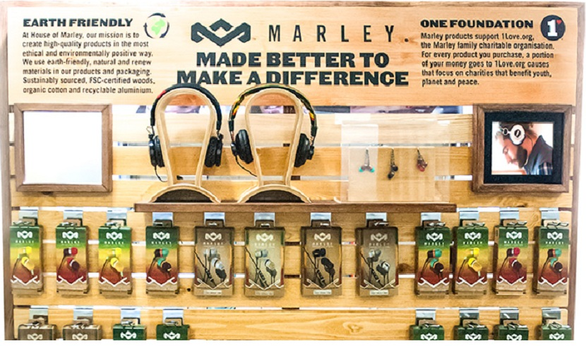 House of Marley Shop in Shop