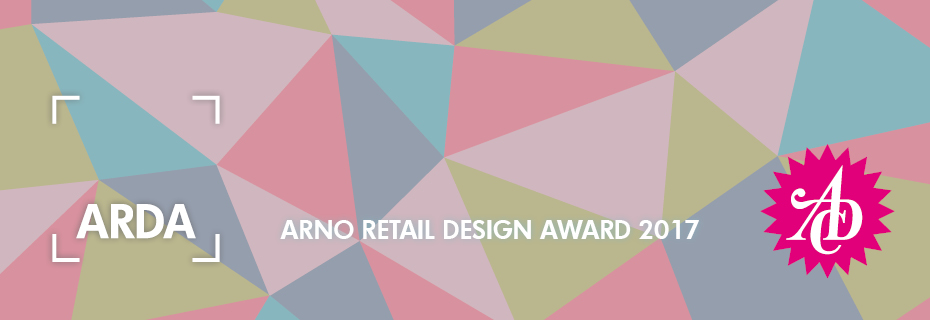 ARNO RETAIL DESIGN AWARD 2017 - REGISTER NOW!