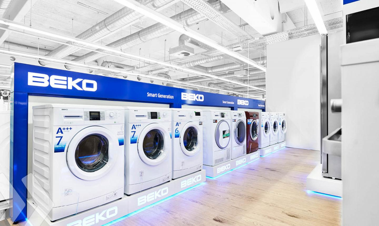 beko 04 shop in shop shop in shop systeme retail design