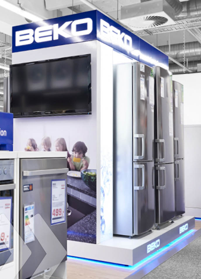 beko 07 shop in shop shop in shop systeme retail design