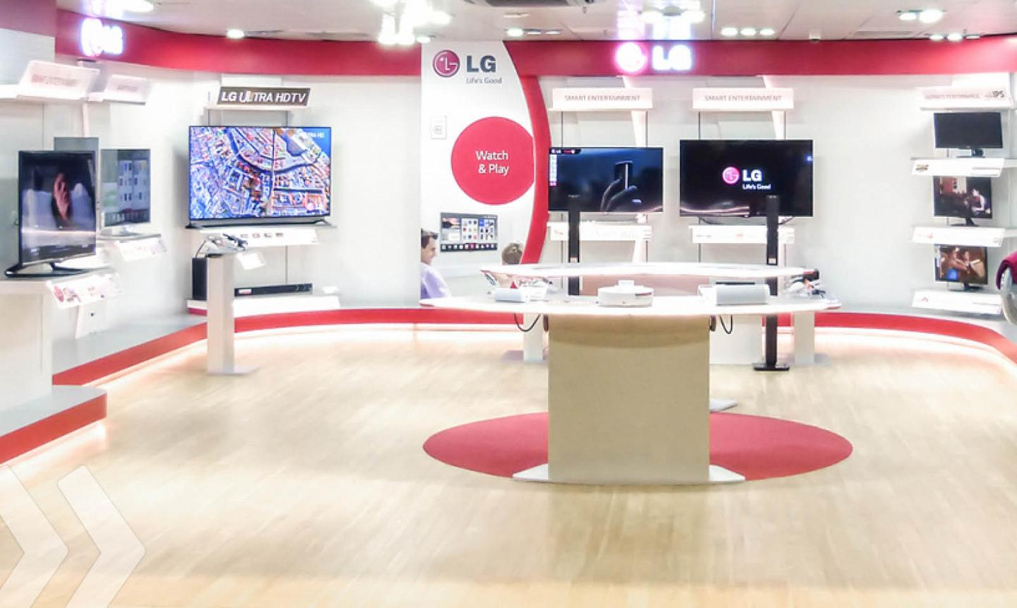 LG Shop in Shop 1 by ARNO Group