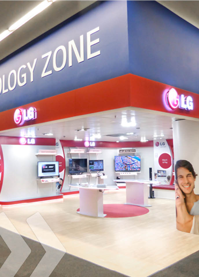 LG Shop in Shop 02 by ARNO Group