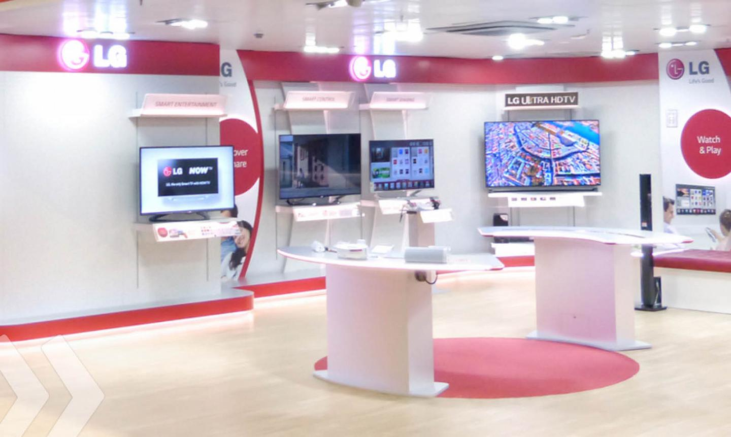 LG Shop in Shop 2