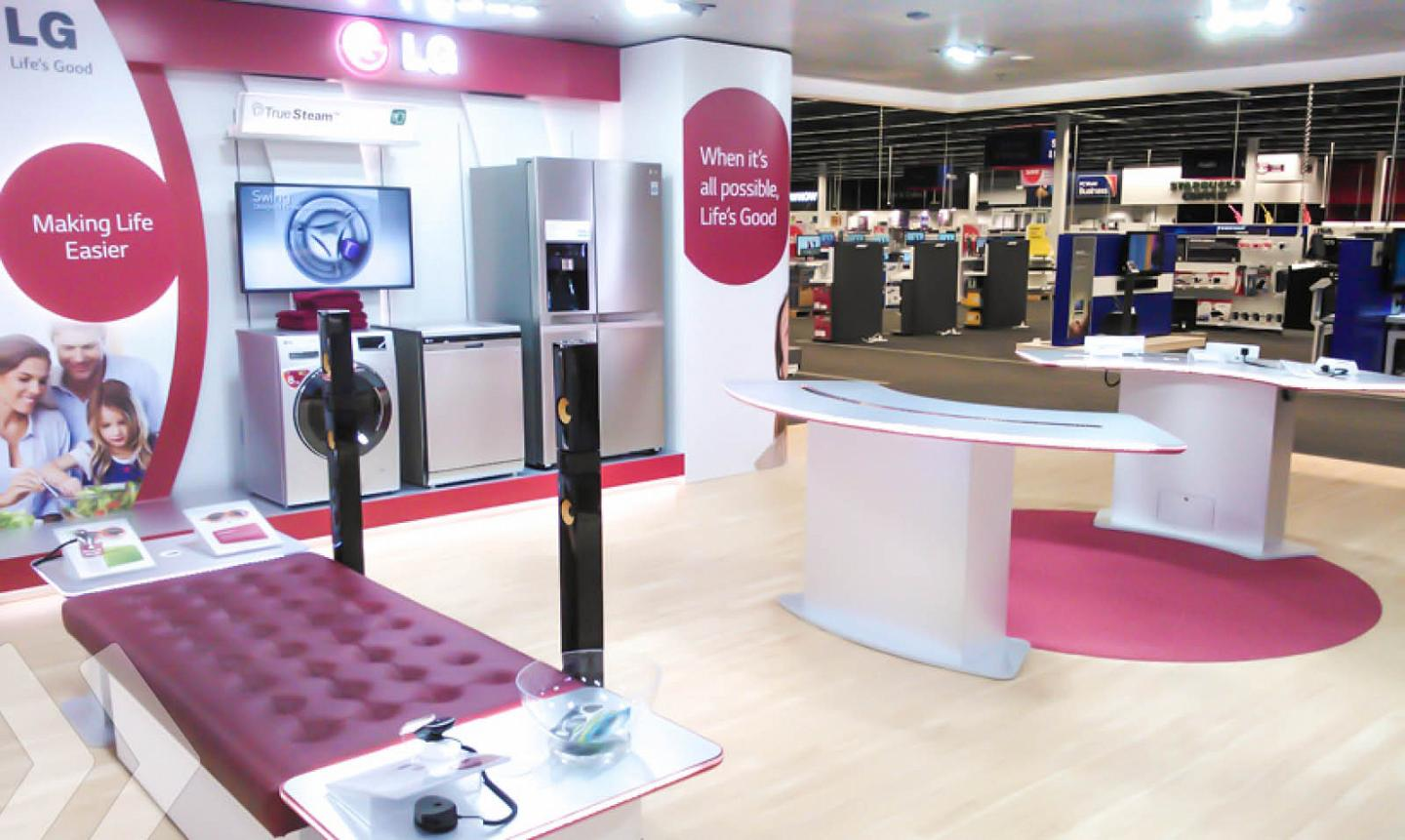 LG Shop in Shop 04 by ARNO Group