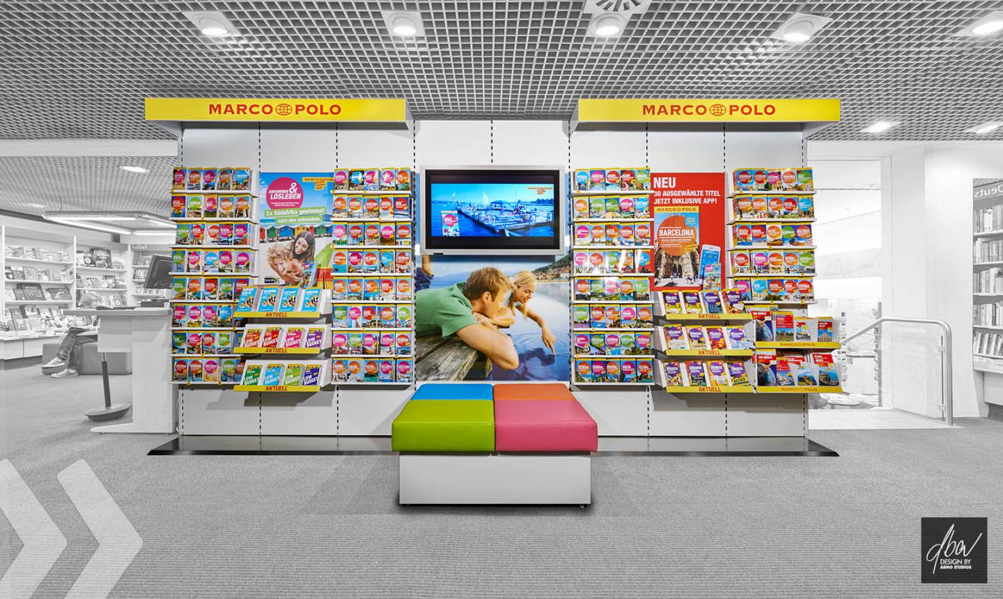 Marco Polo Mairdumont Shop in Shop frontal by ARNO Group