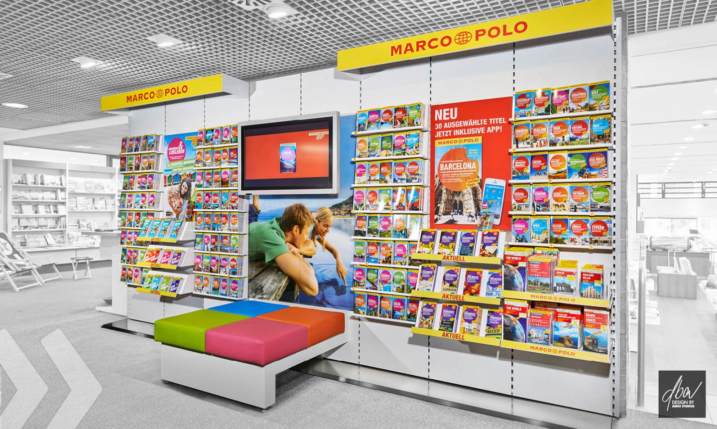 Marco Polo Mairdumont Shop in Shop von rechts by ARNO Group