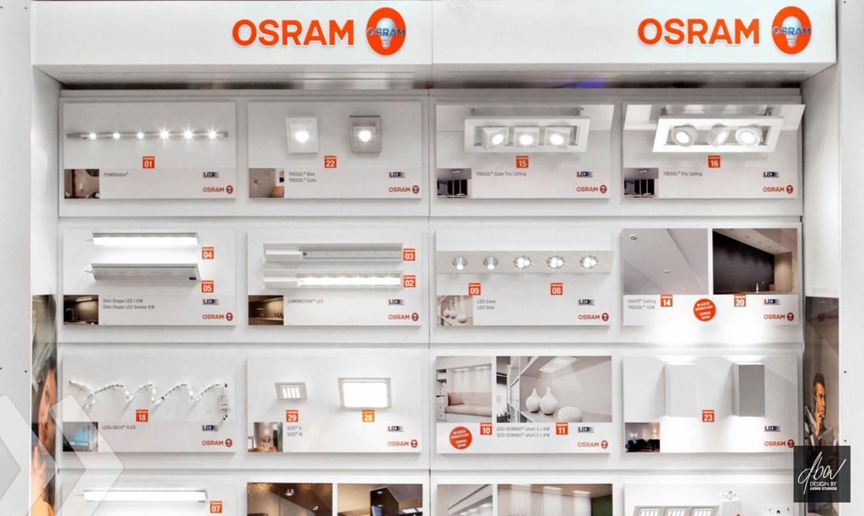 osram shop in shop arno group. Black Bedroom Furniture Sets. Home Design Ideas