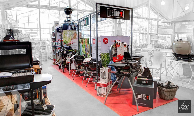 Weber Shop In Shop Arno Group