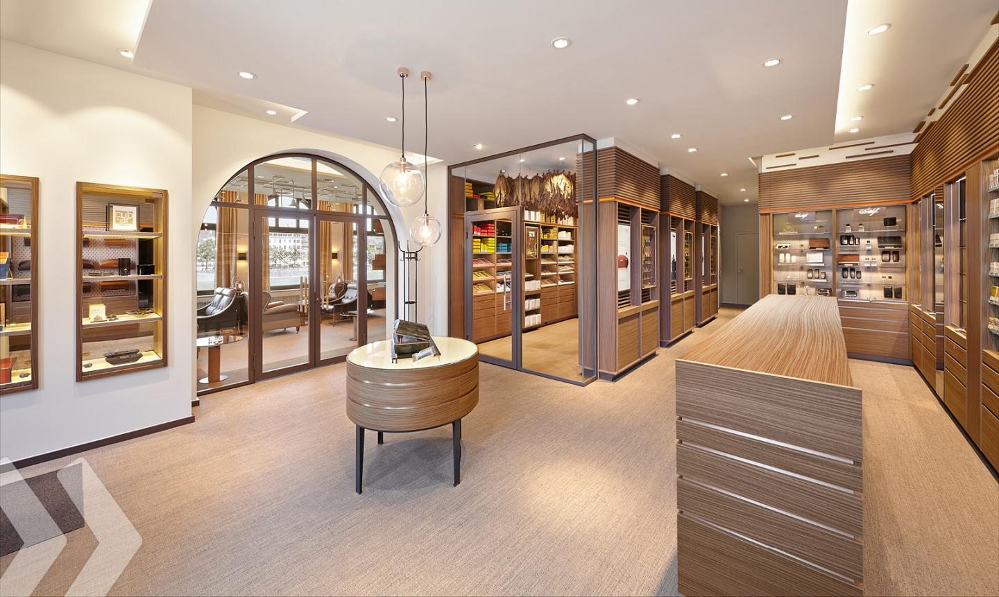 Davidoff Store Counter