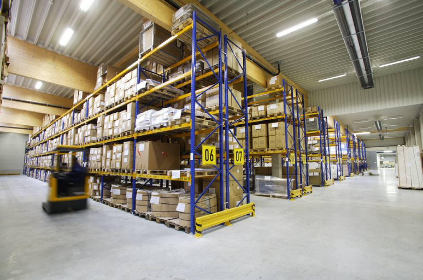 Neues Logistikcenter