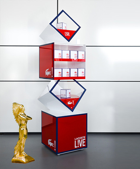 POPAI 2015 Gold - Lacoste Live Display