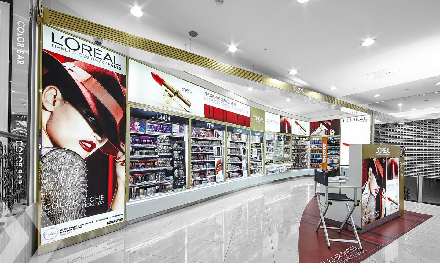 L'Oréal Shop in Shop Russia 02