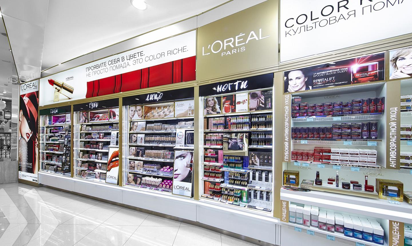 L'Oréal Shop in Shop Russia 05