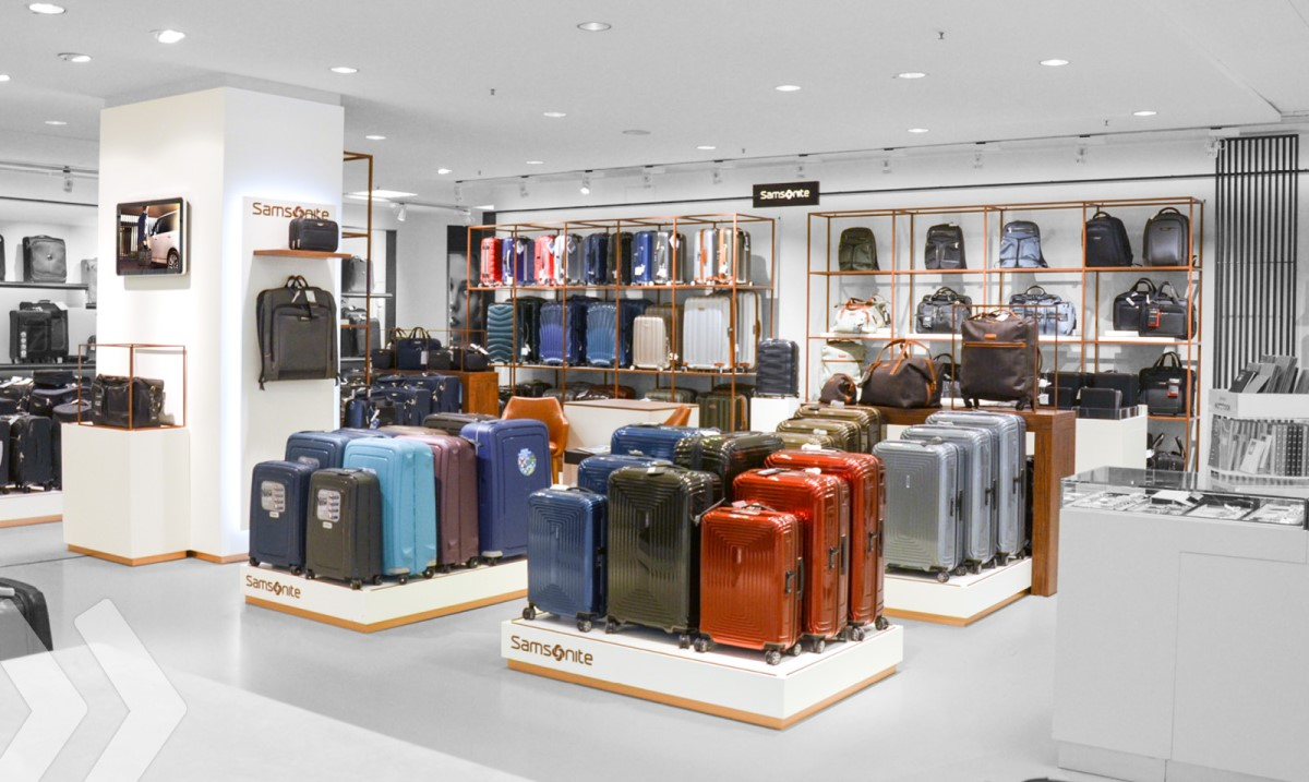 Samsonite - Shop in Shop - 02