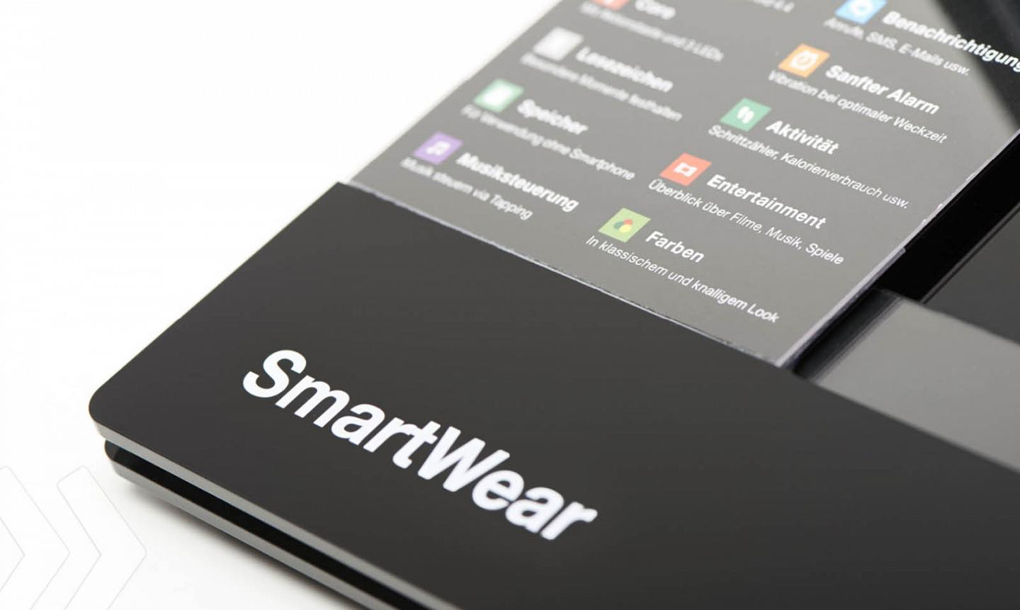 Sony Smart Wear Detail Logo