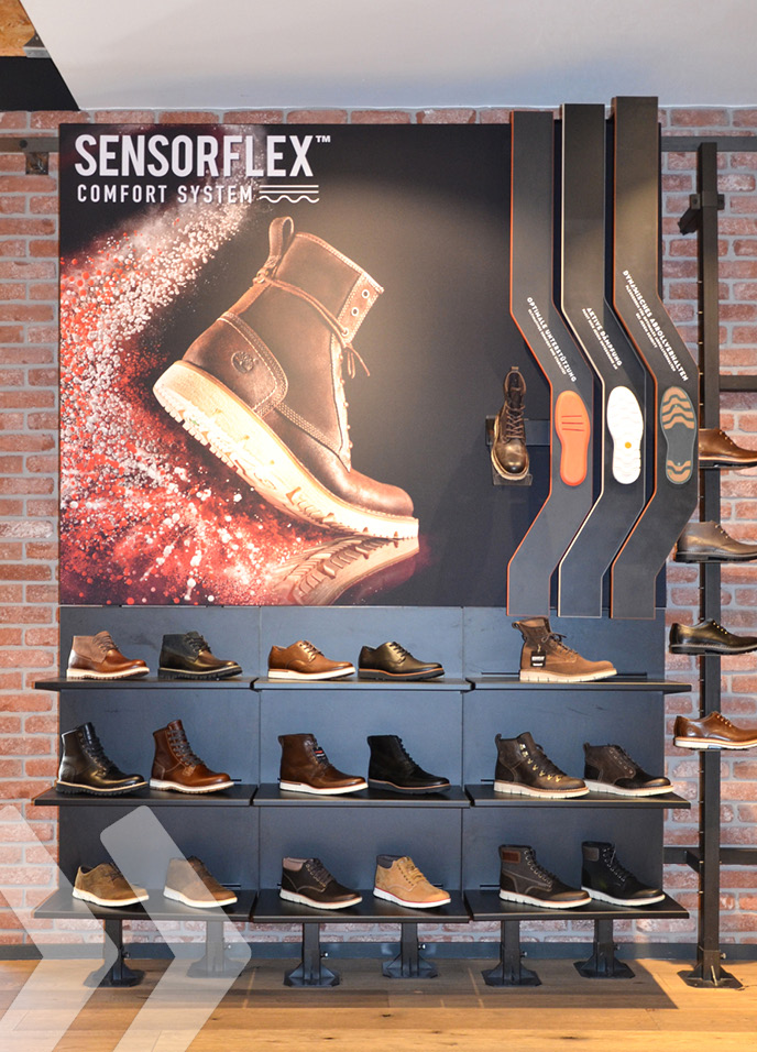 Timberland SensorflexDisplay - made by ARNO 01