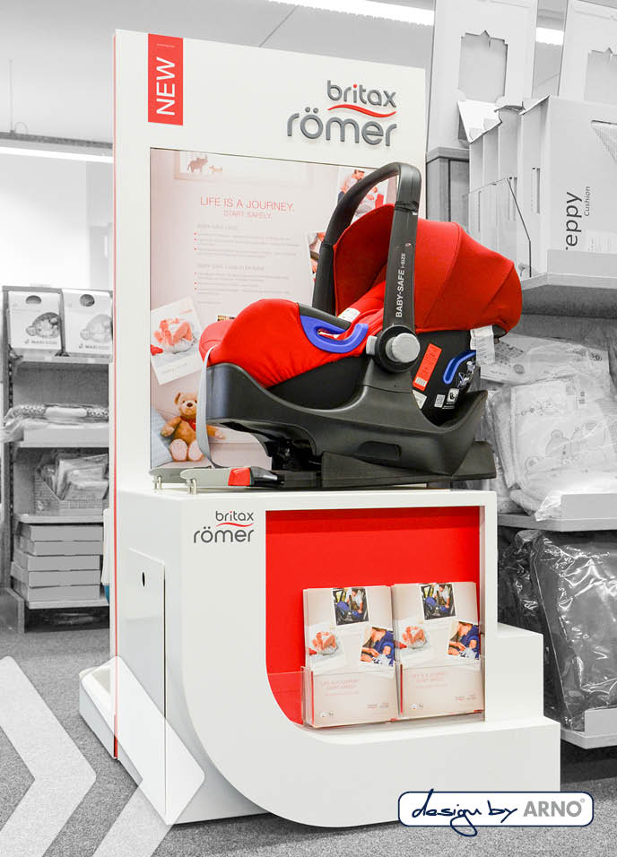 Britax Römer Display design by ARNO 01