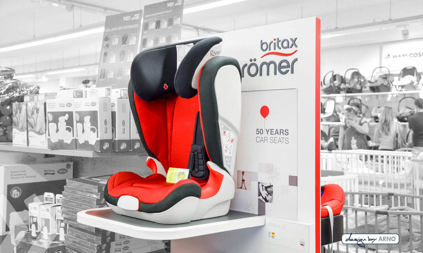 Britax Römer Display design by ARNO 03