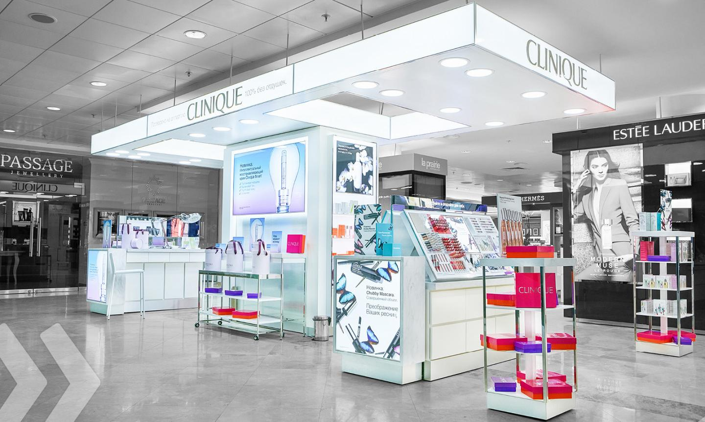 Clinique - Shop in Shop - 02