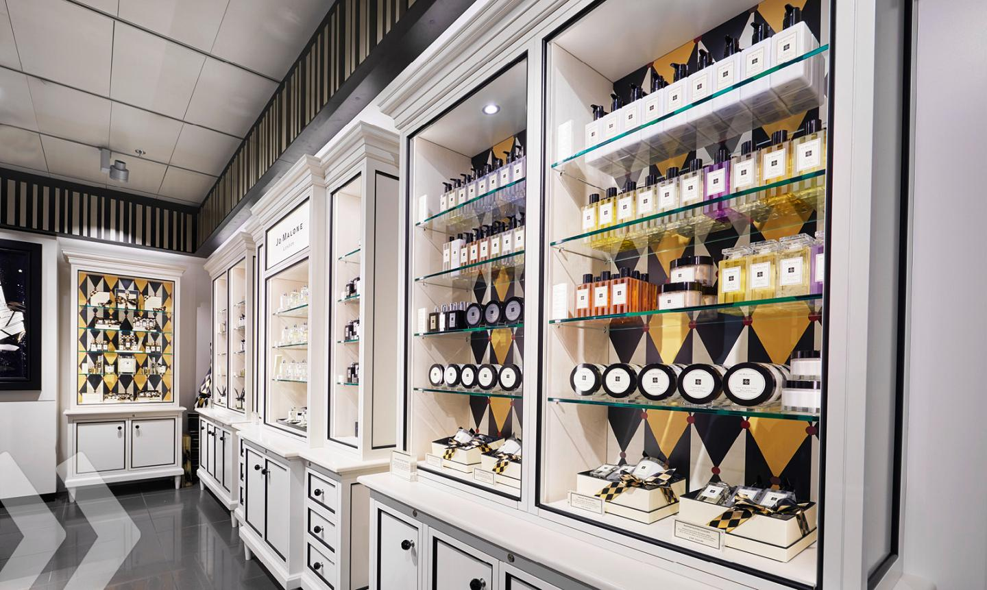 Jo Malone Shop in Shop made by ARNO 02