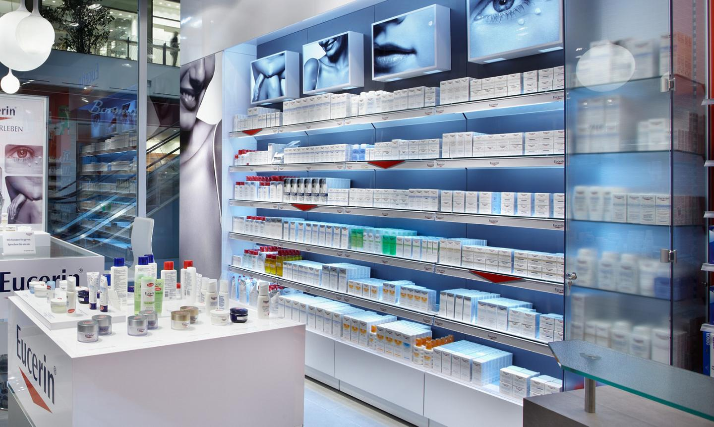 point of purchase manufacturer shop in shop eucerin