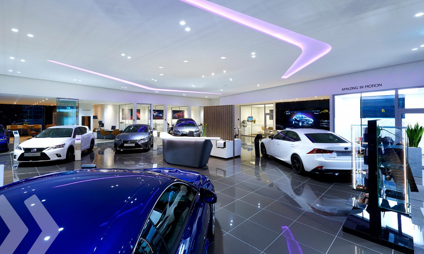 Retail Design Lexus Store